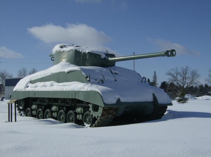 Borden M4A2 Sherman
