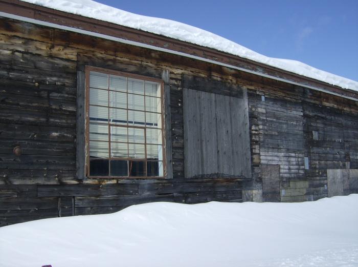Borden Hangar Window