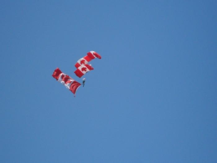Parachute Borden