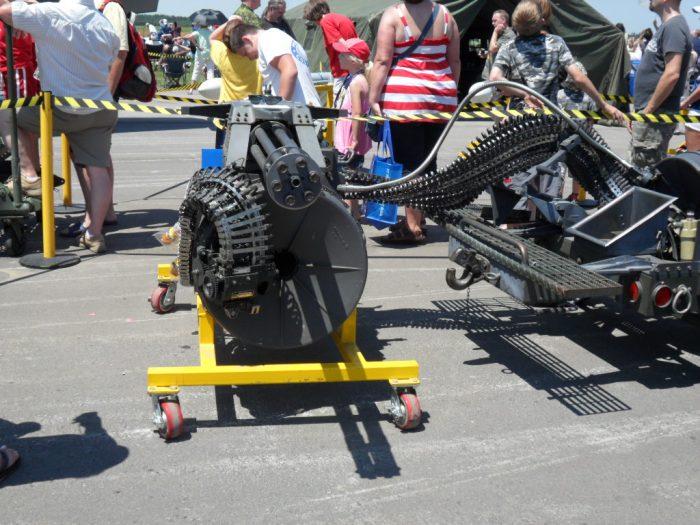 M61 Vulcan Borden