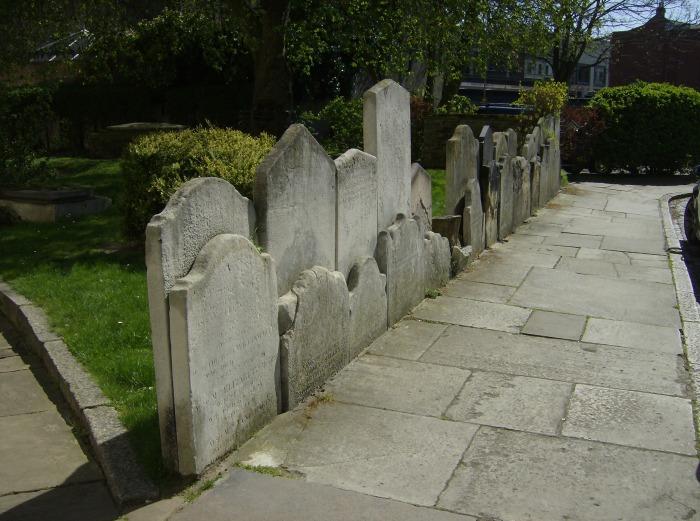 Alfege's Headstones