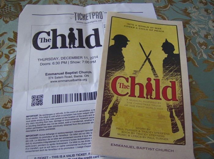 """The Child"" ticket"