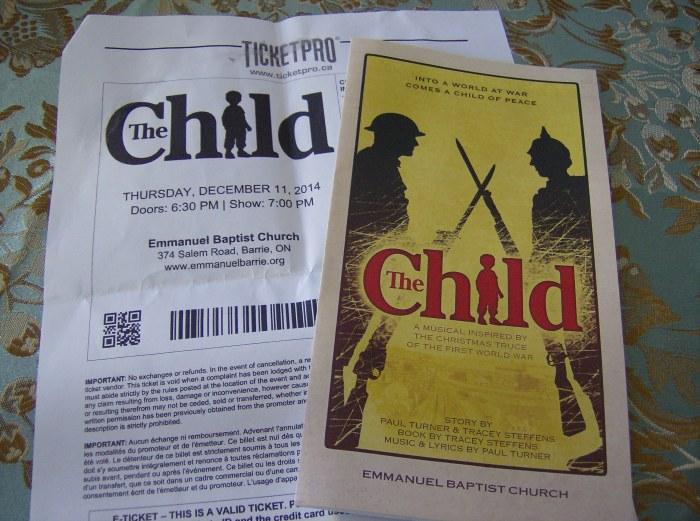 """The Child"" ticket"